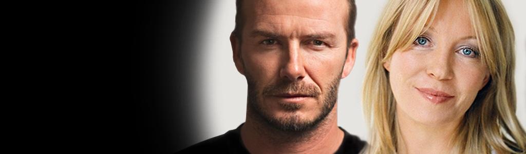 David Beckham & Kirsty Young