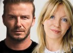 David Beckham & Kirsty Young