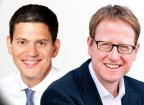 David Miliband & Jonathan Freedland
