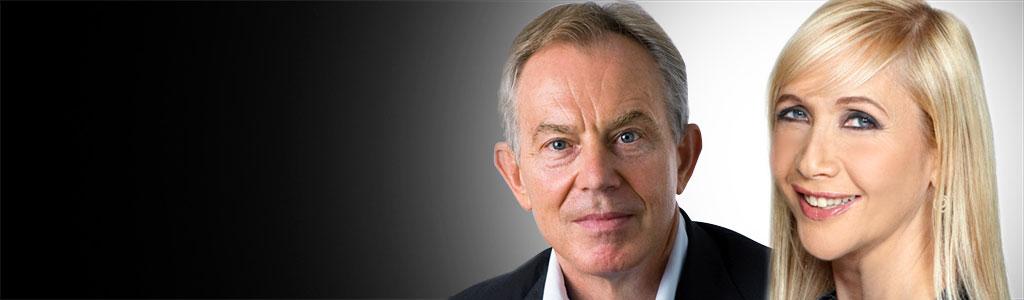 Tony Blair & Tania Bryer