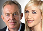 Tony Blair & Tania Bryer