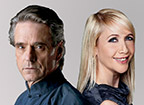 Jeremy Irons & Tania Bryer
